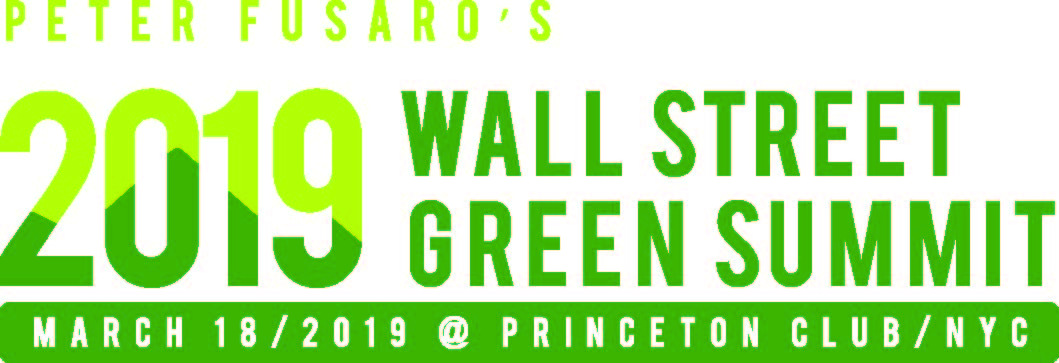 2019 Wall Street Green Summit