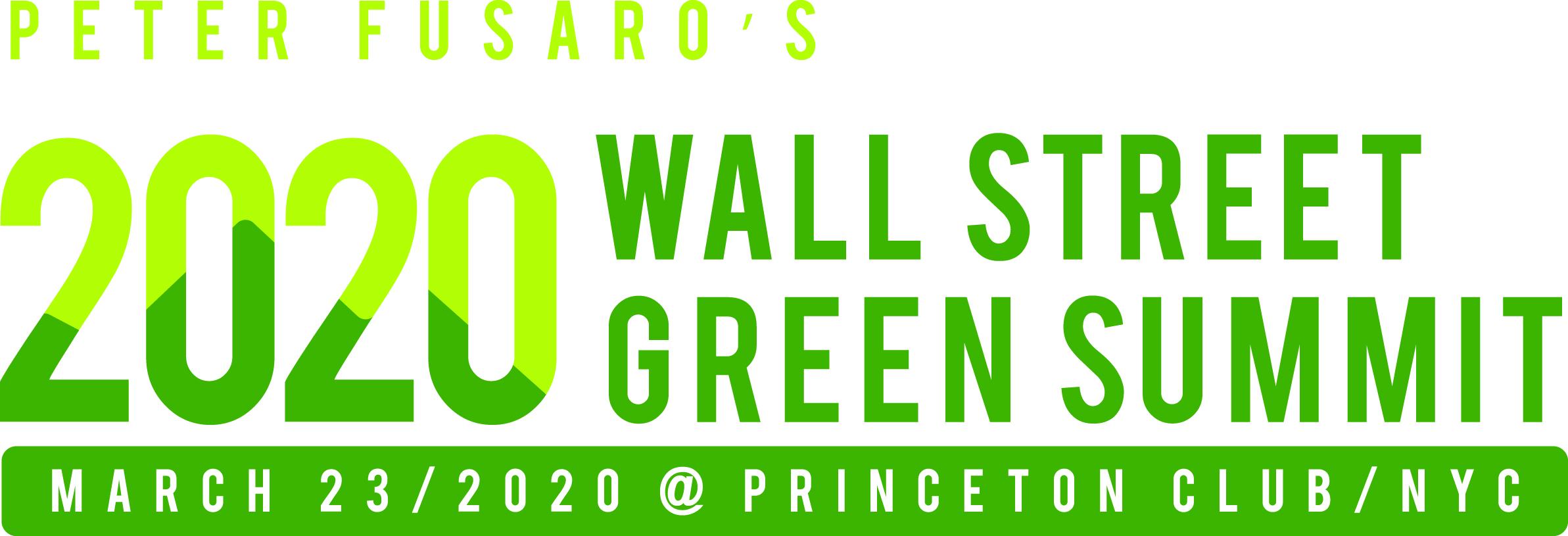Wall Street Green Summit
