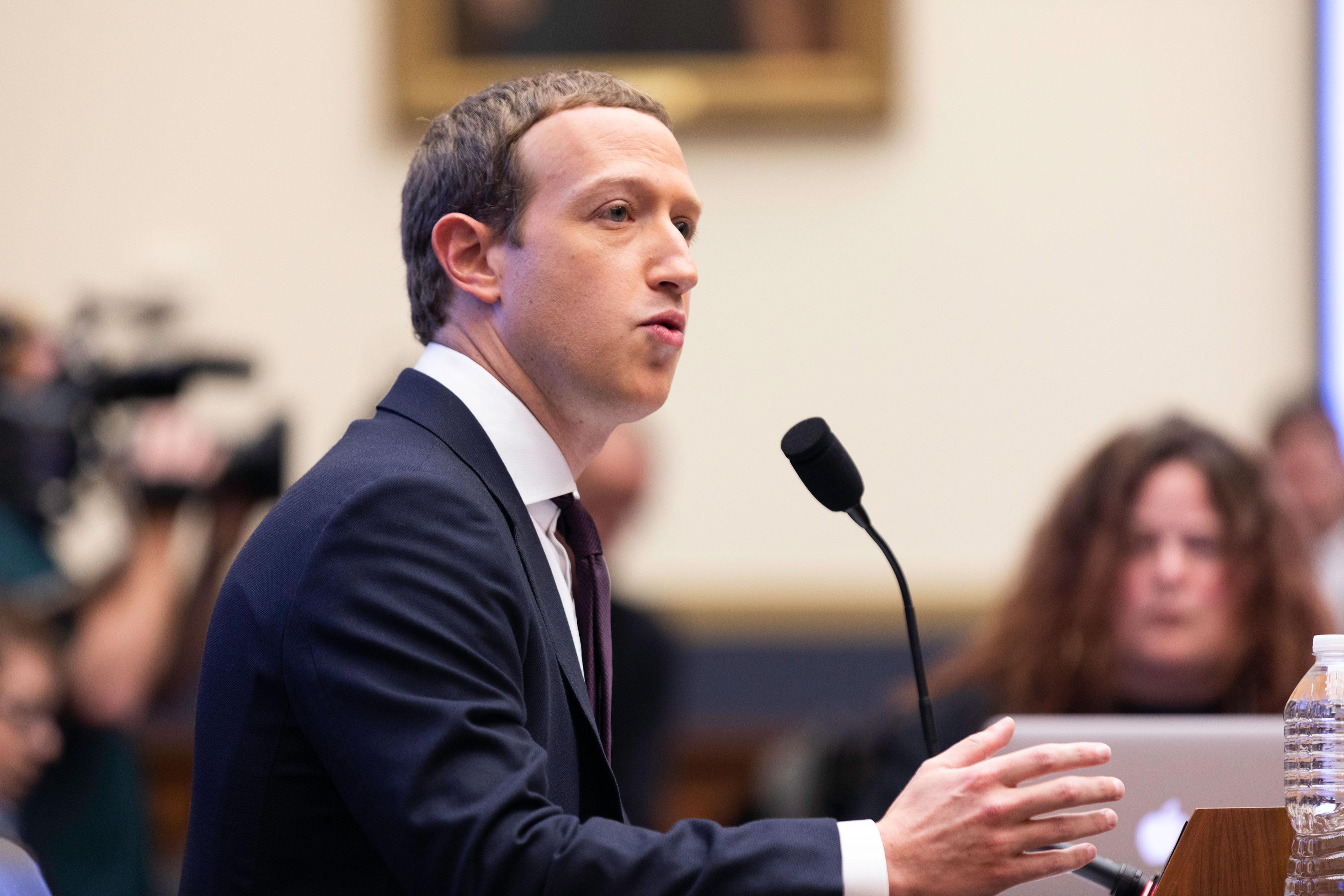 Mark Zuckerberg Hearing In Congress