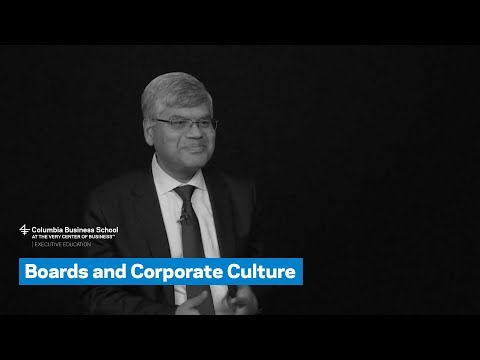 Boards and Corporate Culture
