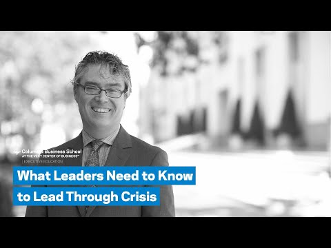 What Leaders Need to Know to Lead Through Crisis