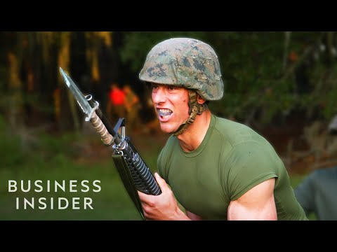 How Marine Recruits Are Trained To Fight With Bayonets