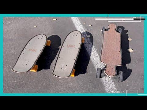 dot Boards modular electric skateboard