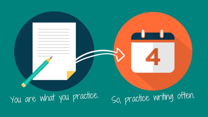 Writing Tip 1: Write regularly