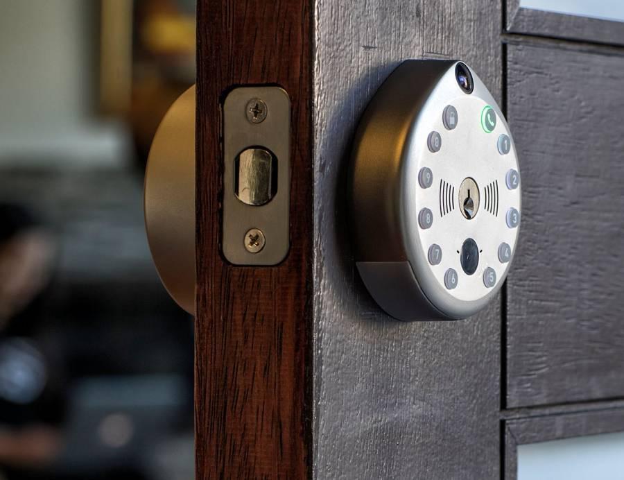 Gate Camera Smart Door Lock