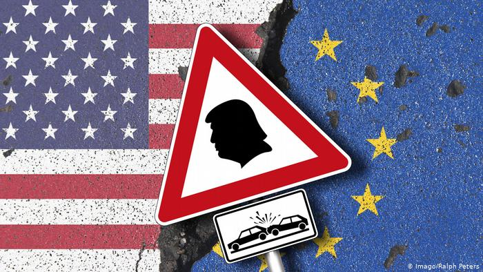 EU and US flags (Imago/Ralph Peters)