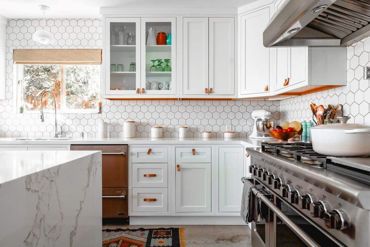 beautifully decorated kitchen