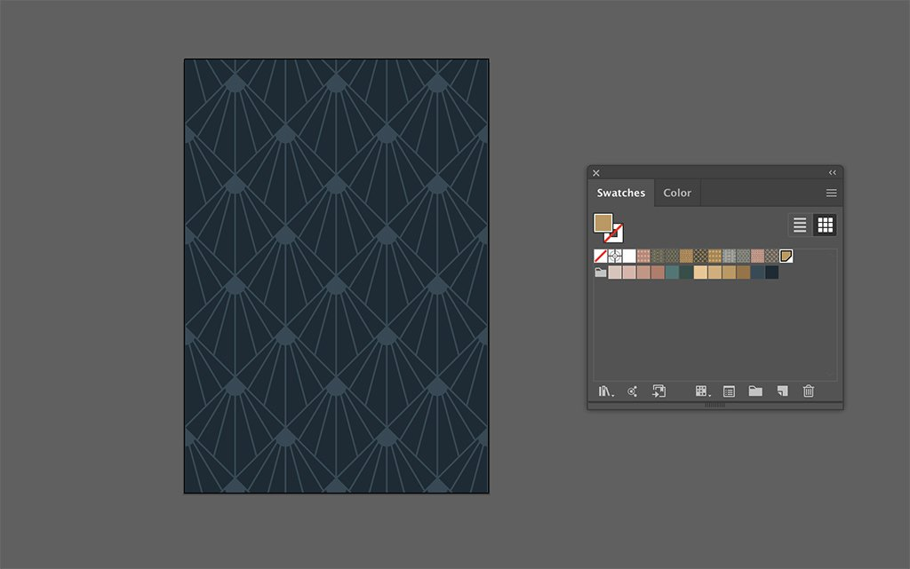 FREE Art Deco Design Pack—Patterns, Borders, Shapes, and More — Art Deco Invitation Card Background