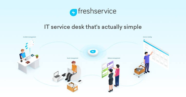 Freshservice top help desk software