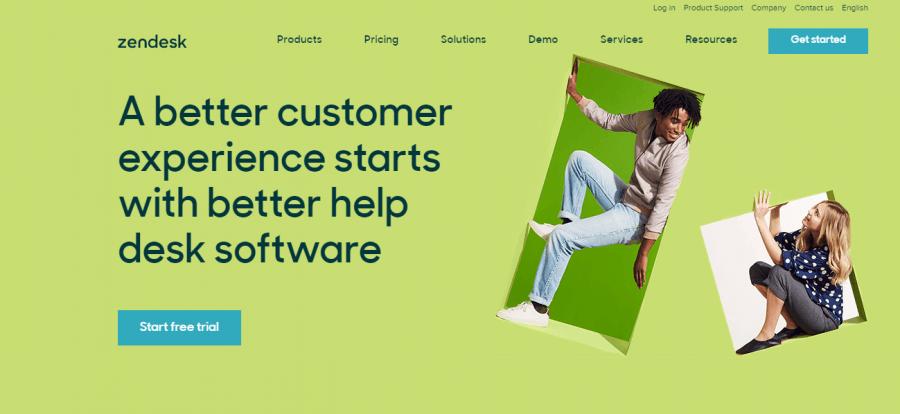 Top Zendesk help desk software