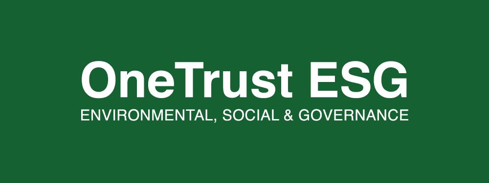 OneTrust ESG